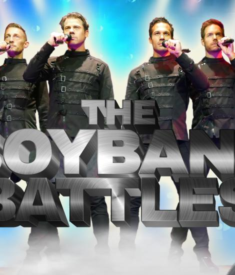 The Boyband Battles boek je exclusief bij VIking Entertainment